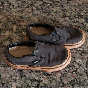 Van's Black Slip Ons